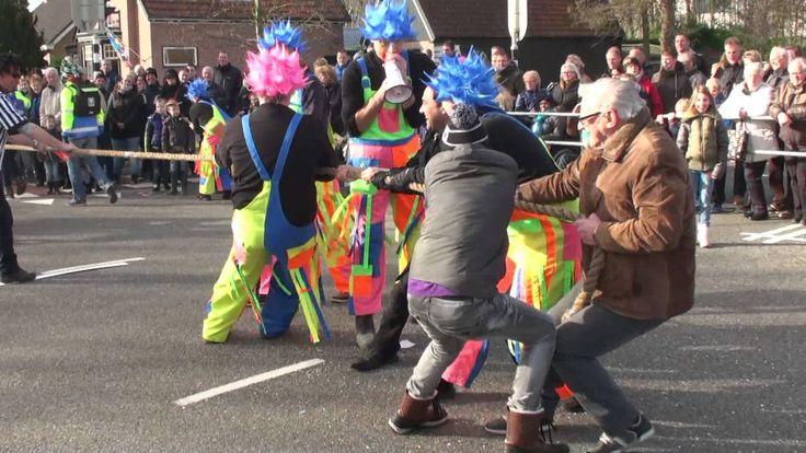 Najaa 2016 Carnavalsoptocht het Masker Zwaag