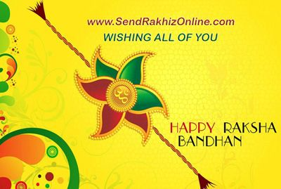 Celebration for bond of protection festival is Raksha Bandhan when brother promises to protect sister from every up and downs in her life. Send Rakhi Online wishes all of you A VERY HAPPY RAKSHA BANDHAN.