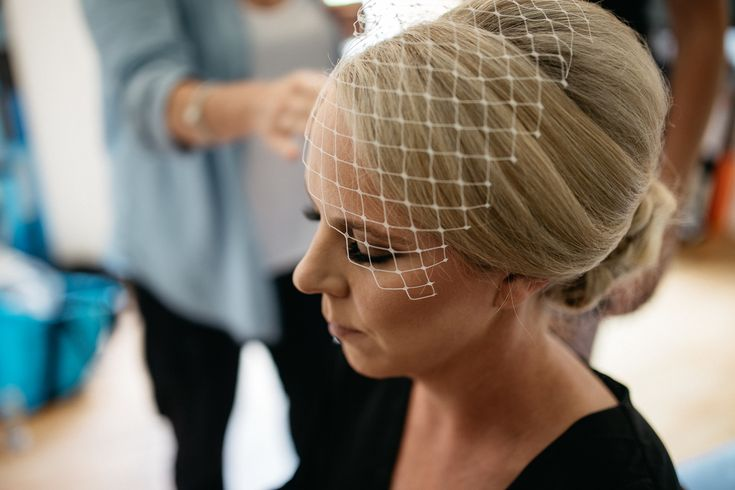 Birdcage veil wedding Melbourne Australia photographer