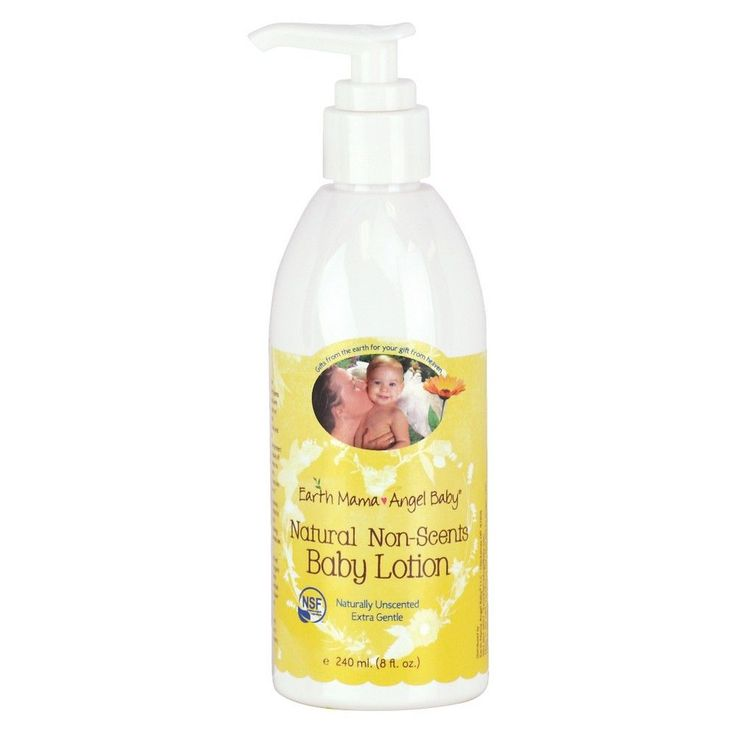 Earth Mama Angel Baby Natural Non-Scents Baby Lotion - 8oz