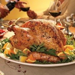 Herb-Roasted Turkey  - Great reviews! EatingWell.com