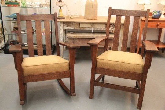 Antique Mission Style Rocking Chair Woodworking Projects