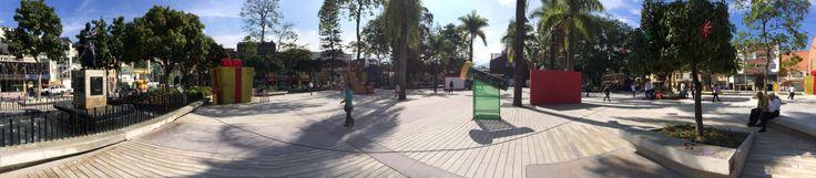 Foto panorámica del Parque Principal