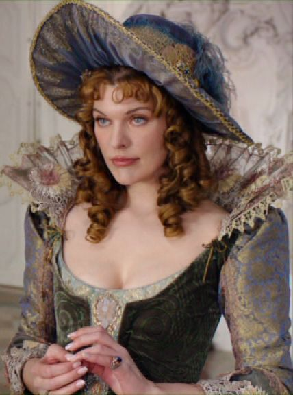 Milady de Winter in 'The three Musketeers' (Milla Jovovich)