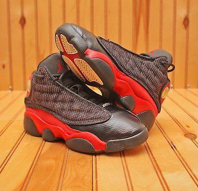 Nike Air Jordan 13 XIII Retro Size 13.5C  - Bred Black Red - 414575 010