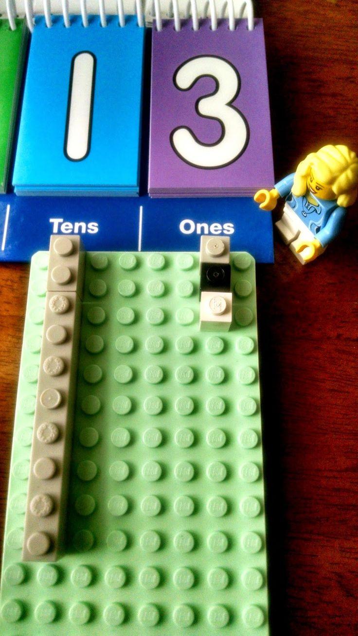 LEGO Math | Place Value ScienceKiddo.com