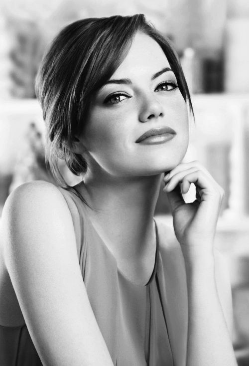 'But the really amazing thing is, it's nobody's damn business.' - Emma Stone