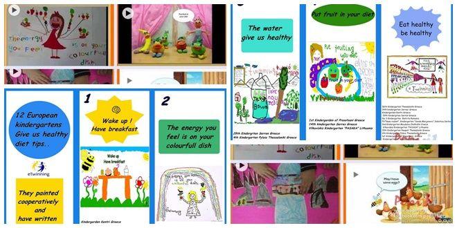 Μυστικά υγιεινής διατροφής.4 ηλεκτρονικές διαφημίσεις & τρίπτυχο φυλλάδιο