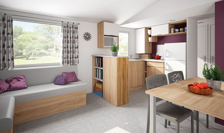 Gamme 2016 - Lodge 100 - Rapidhome Mobil home