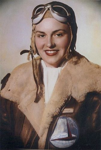03 Apr 44: 24 year old aviator Evelyn Sharp, one of the original Women's Auxiliary Ferrying Squadron (WAFS) pilots, is killed in Pennsylvania in the crash of a twin engine P-38 Lightning. At the time of her death she was a squadron commander, only three flights from her fifth rating, the highest certificate then available to women.