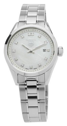 TAG Heuer Women's WV1411.BA0793 Carrera Diamond Watch for only $2,035.00 You save: $865.00 (30%)