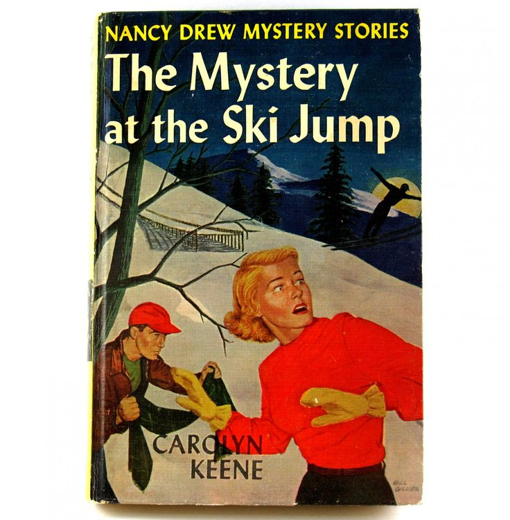 The Mystery at the Ski Jump Nancy Drew Mystery Stories 1962 Print For Story Number 29 Vintage   The+Mystery+at+the+Ski+Jump+Nancy+Drew+Mystery+Stories+1962+Print+For+Story+Number+29+Vintage