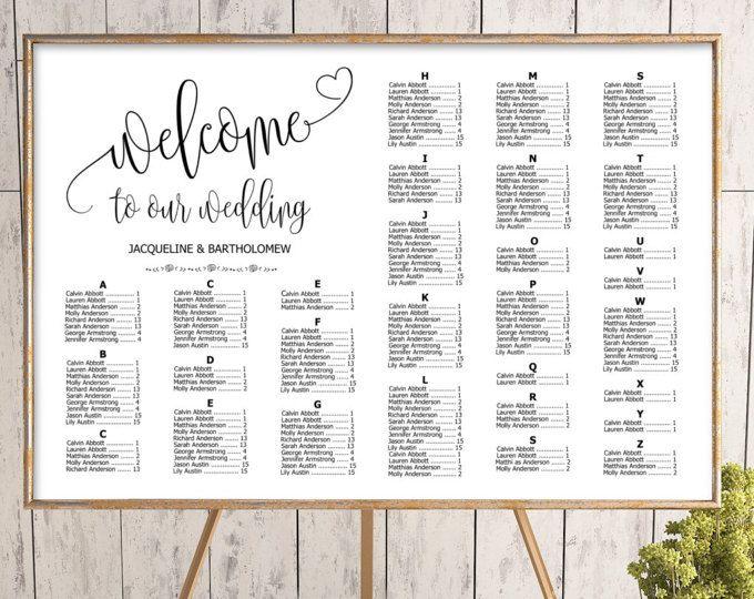 seating arrangements for wedding