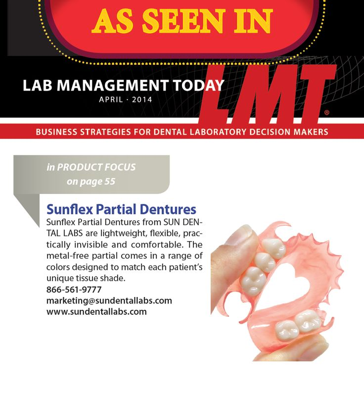 Here's another reason to make the switch! Give Sunflex Partials a try as seen in the product focus section of #LMT April issue.