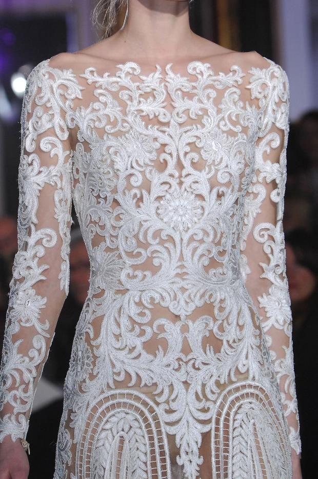 Zuhair Murad Details HC S'13: Fashionising.com