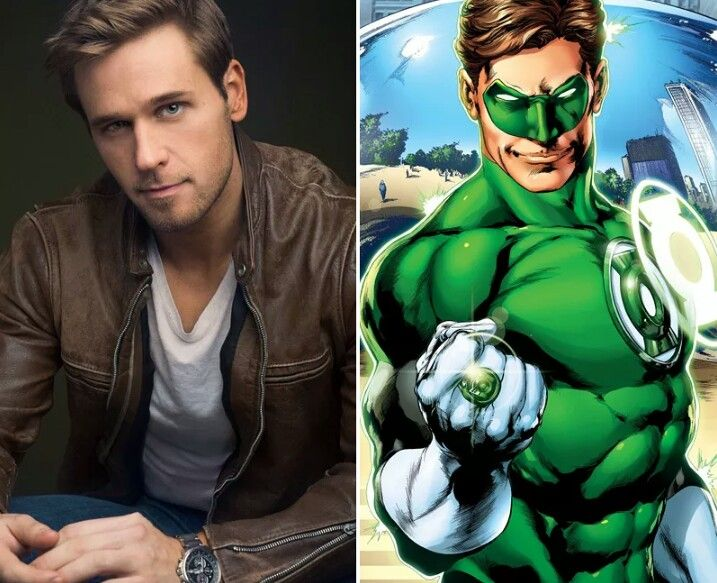 Dan Amboyer as Green Lantern II (Hal Jordan)