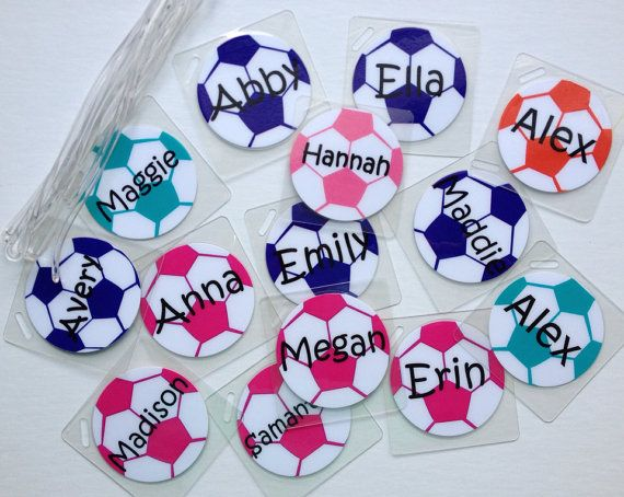 Sample Soccer Bag Tag S By Toddletags 3 00