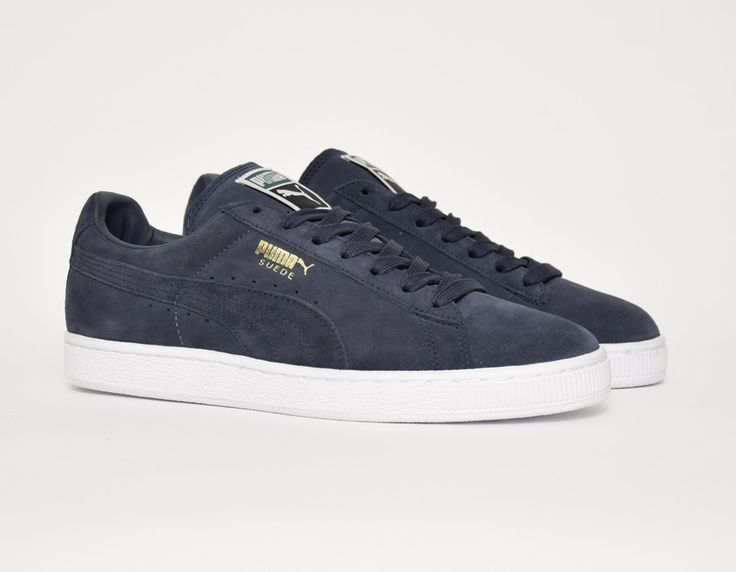 #Puma Suede Classic Navy #sneakers