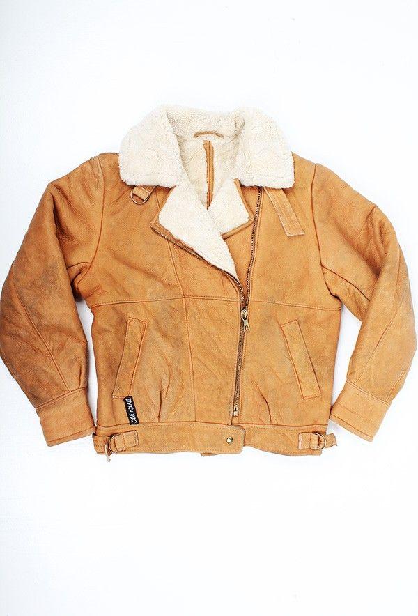 Vintage Aviator Jacket