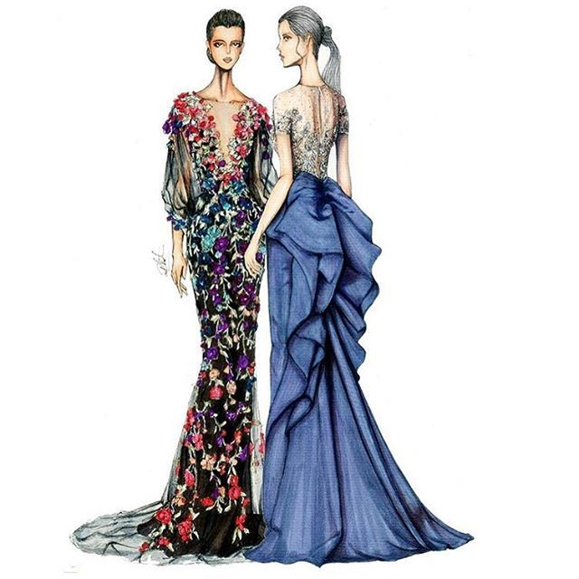 1744 Best Fashion Sketch Images On Pinterest Fashion