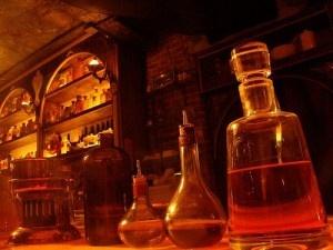 Botellas de uno de los mejores Bares en la Condesa