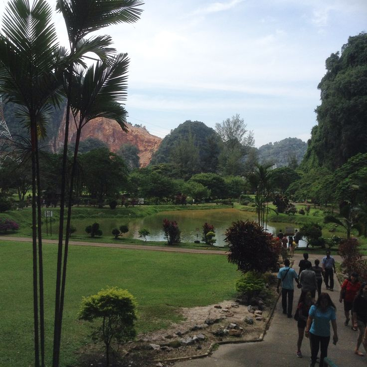 Gardens near the temple