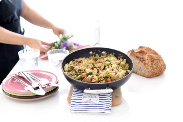 Quinoa con verduras a la parrilla   Velocidad Cuchara