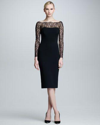 Becky g black dress neiman