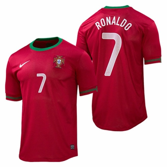 Nike Portugal Cristiano Ronaldo #7 Home Soccer Jersey (2012/13)