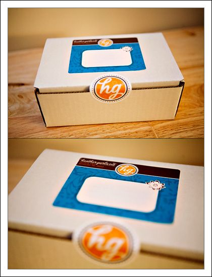 Very simple packaging -- Labels do a lot for this shipper. Great for small businesses who want to give a homey feel to their products.
