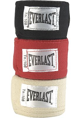 "Everlast boxing hand wraps, 108"" 3-pack. $14.99 at Dick's Sporting Goods"