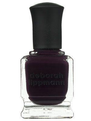 Deborah Lippmann nail polish in Dark Side of the Moon | allure.com