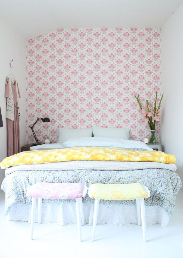 Sukkertøy for øyet - Pretty Pastel Style Bedroom