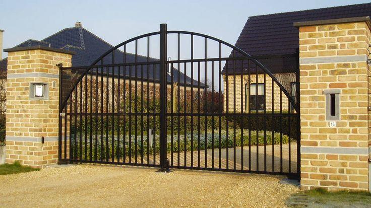 smeedijzeren hekken | Modern hekwerk - Design hekwerk kopen | Kunstsmederij VDM