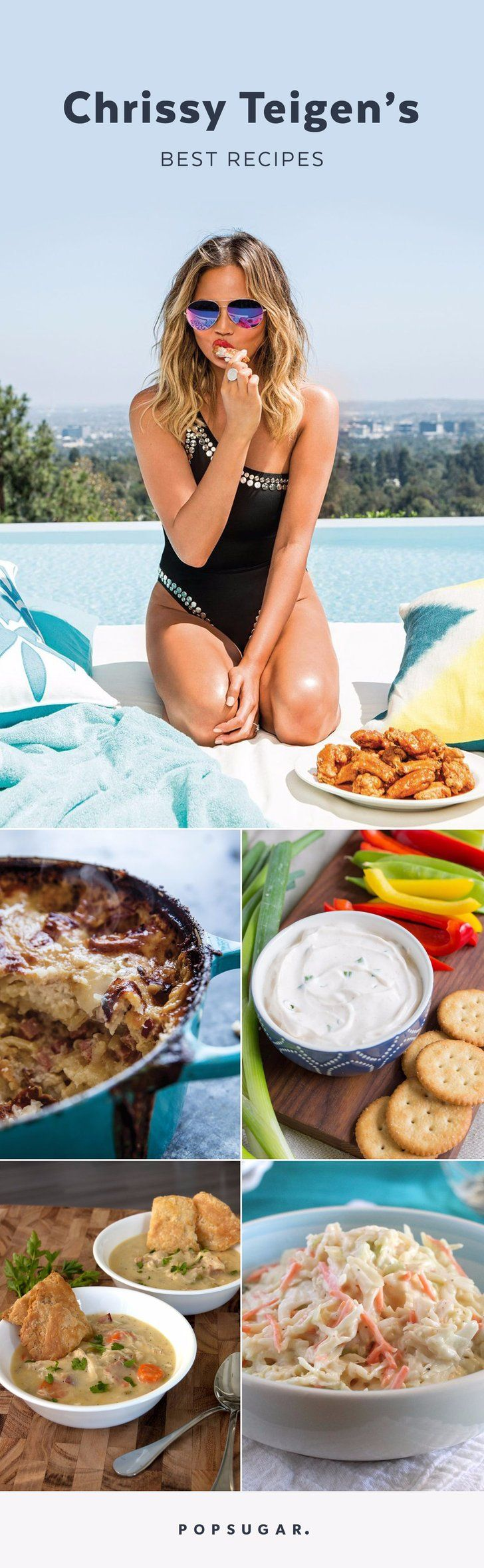 16 Recipes From Chrissy Teigen That Will Transform the Way You Cook