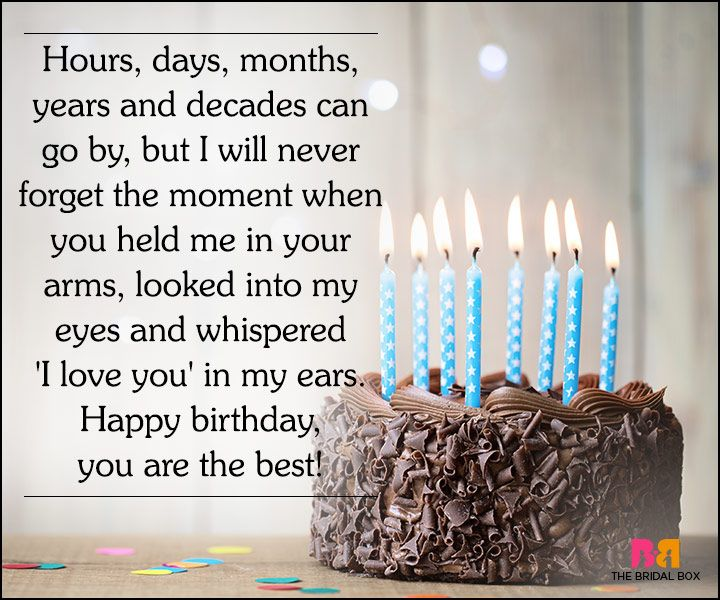 30 Cute Love Quotes For Husband On His Birthday Happy Birthday