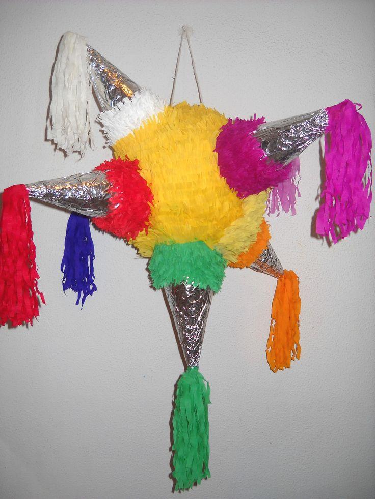 Piñata de Estrella de Navidad