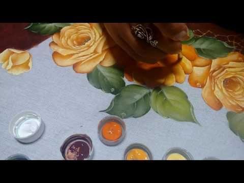 Solemn Fernandes Dark Yellow Rose - YouTube
