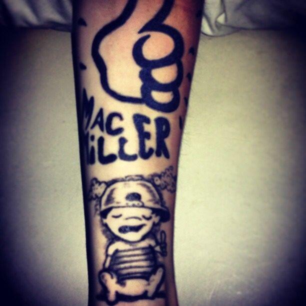 Imagine tattoo mac miller