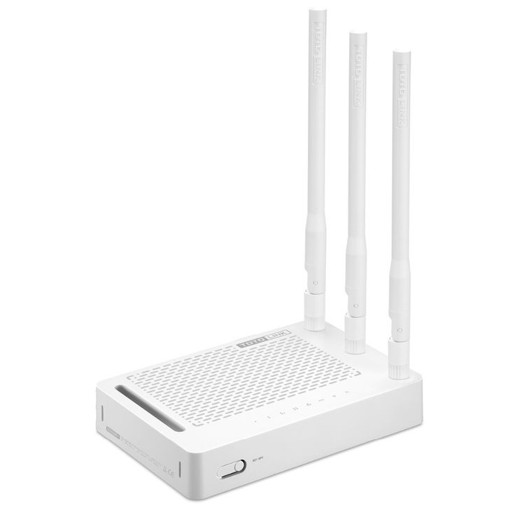 Totolink n302r + 300 mbps wifi router, Router nirkabel dengan 3 pcs dari 5dBi Antena, satu Halaman Setup, inggris dan Rusia Firmware