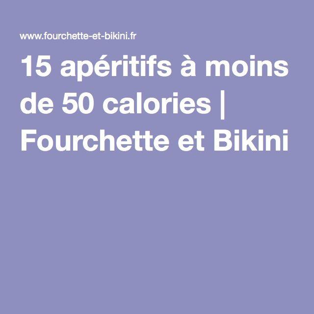 15 apéritifs à moins de 50 calories | Fourchette et Bikini