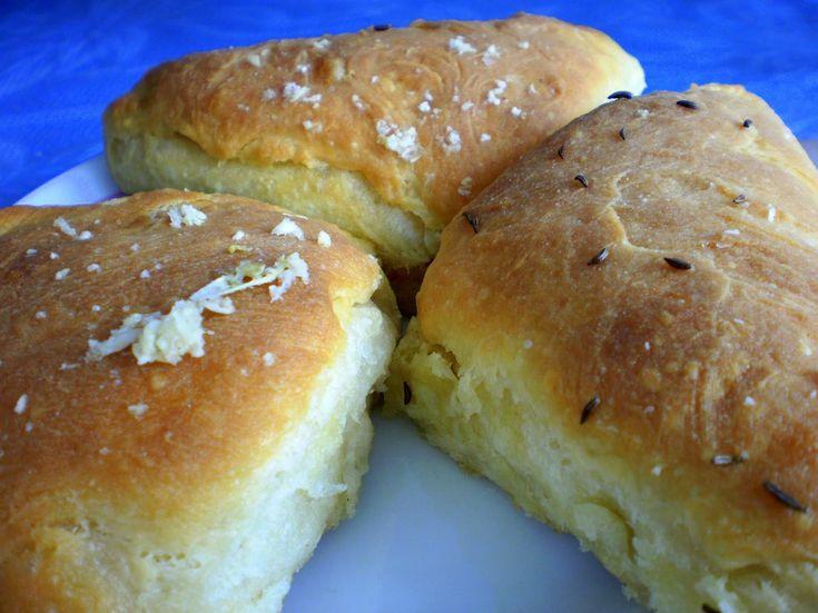 Páperovo mäkké cesnakové koláče