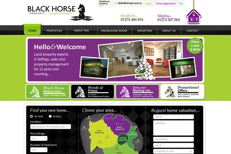 Black Horse Property - A successful Bradford Estate Agents. http://blackhorseproperty.com #design #development #seo #infographics