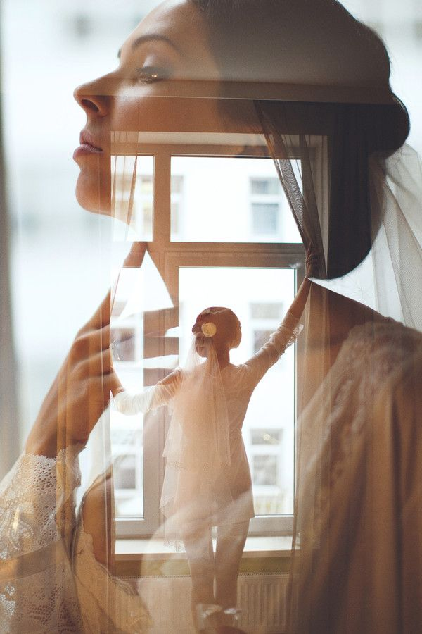 "This double exposure idea could be used to illustrate the ""inner qualities"" of a person, by overlapping different layers of the same image."