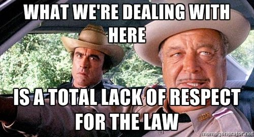 Sheriff Buford T. Justice (Jackie Gleason, Smokey and the Bandit) #movies #memes #quotes #outlaws
