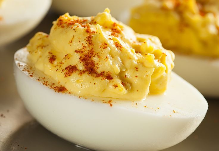 The simple deviled egg - a wonderful breakfast treat