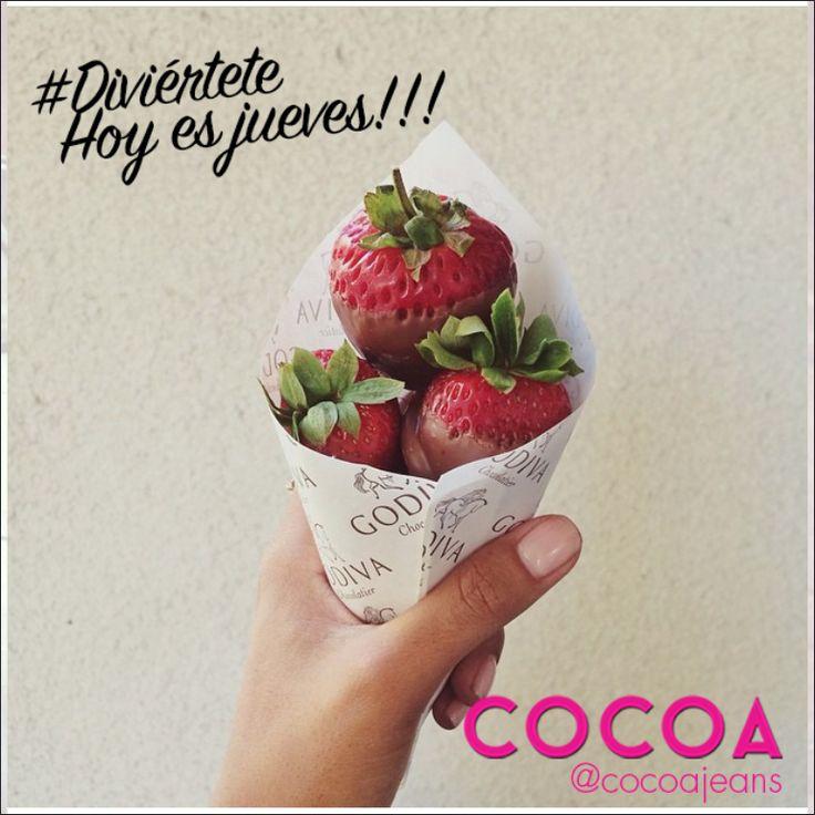 Disfruta al máximo este y todos los días !!! #fun #behappy #lovecocoa