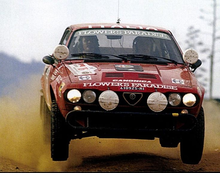 Coffeebreakexpresso: Munari Safari Rally Driving An Alfa Romeo GTV