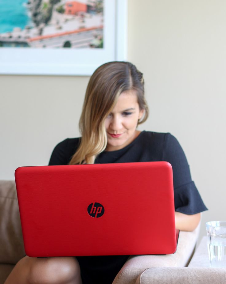 The Prettiest Red HP Computer from HSN