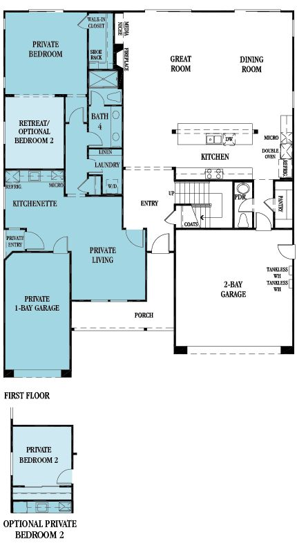169 best images about dream floor plans on pinterest 3 for Multigenerational house plans with two kitchens